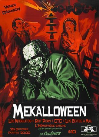 Mekalloween - 25 Octobre